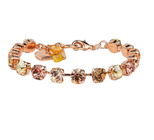 Load image into Gallery viewer, Mariana Must Have Meadow Brown Bracelet in Rose Gold