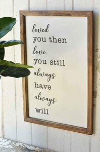 """Love you Always"" Print"
