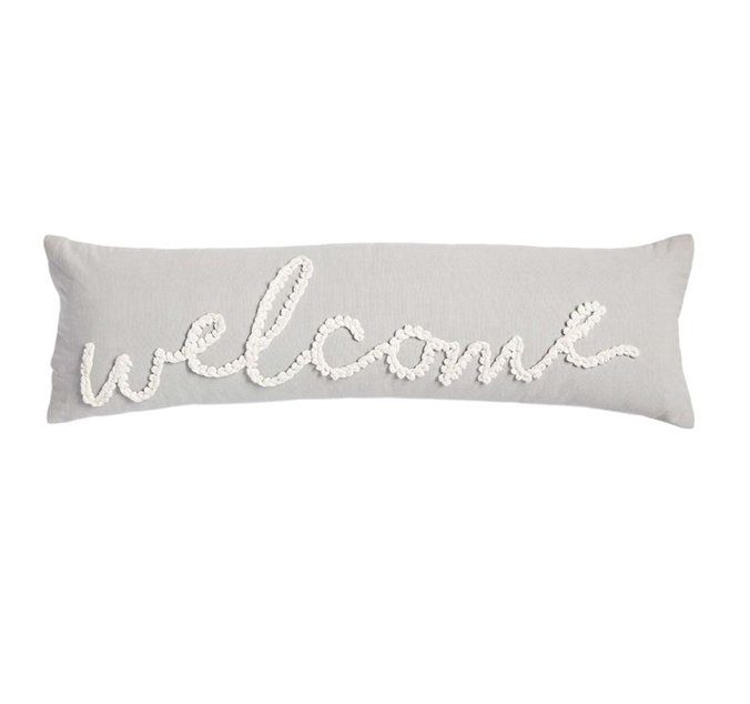 Welcome Large Knot Pillow
