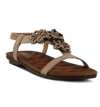 Load image into Gallery viewer, Indra T-Strap Sandal by Patrizia