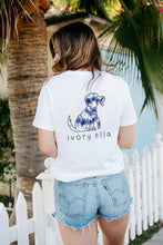 Load image into Gallery viewer, Blue Swirl Dog Tee