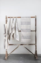 Load image into Gallery viewer, Woven Cotton Striped Tea Towels - Set of 3