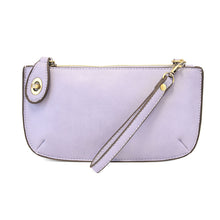 Load image into Gallery viewer, Lilac Mini Crossbody Wristlet Clutch