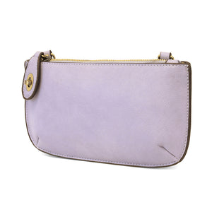 Lilac Mini Crossbody Wristlet Clutch