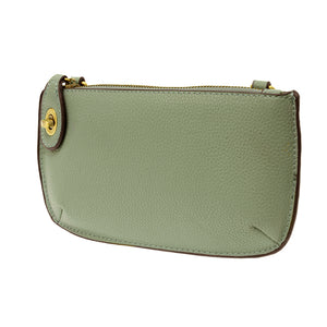 Sage Mini Crossbody Wristlet