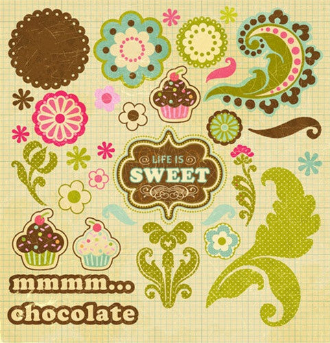 Collage Press Sweet Shoppe Shapes