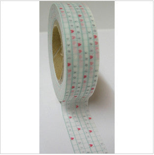 Freckled Fawn Love Graph Washi