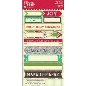 Jillibean Soup Holly Berry Soup Labels