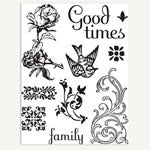 7 Gypsies Clear Stamps
