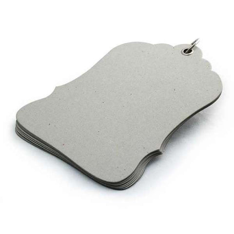 BasicGrey Chipboard Album - Luggage Tag
