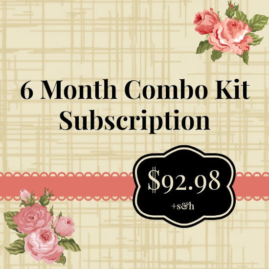 NoelMignon 6 Month Combo Kit Subscription