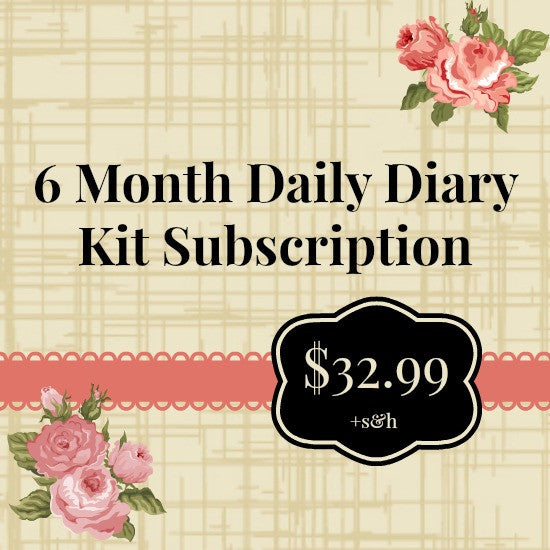NoelMignon 6 Month Daily Diary Kit Subscription