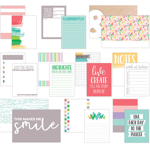 Elle's Studio Live Laugh Love Journaling Cards