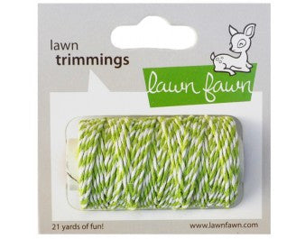 Lawn Fawn Lime Cord