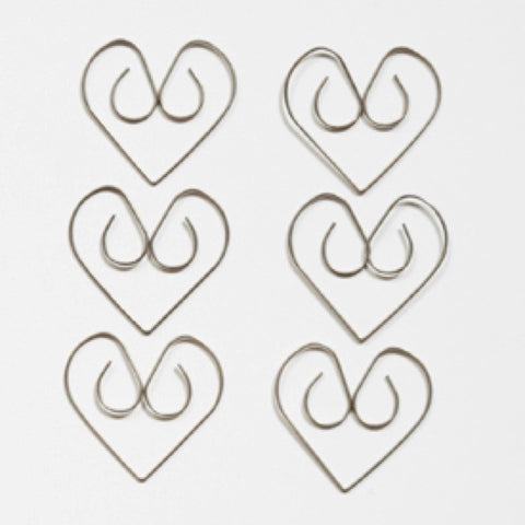 Maya Road Simple Heart Clips