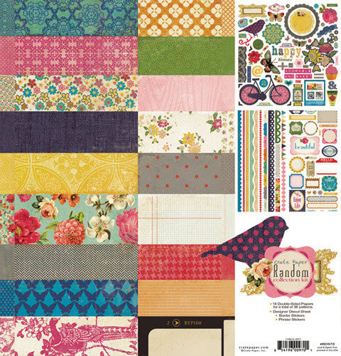 Crate Paper Collection Kit - Random