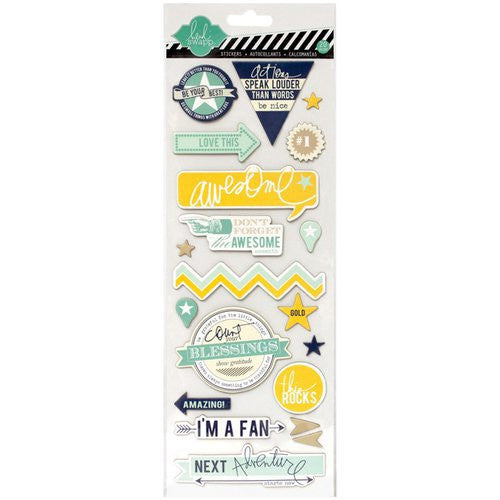 Heidi Swapp Awesome Chipboard Stickers