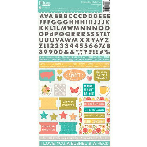 Jillibean Soup Farmhouse Stew Label Stickers