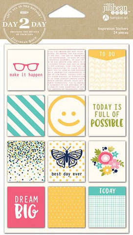 Jillibean Soup Day 2 Day Inspiration Stickers