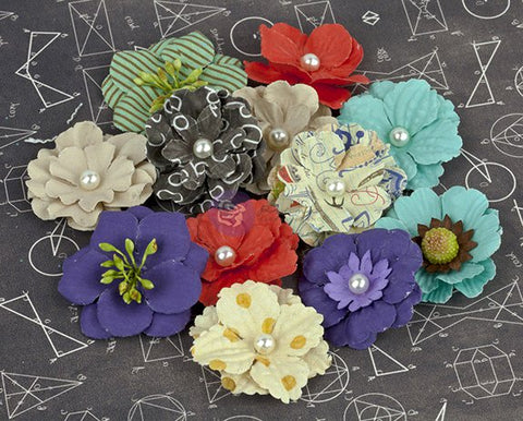 Prima School Memories Layered Flowers