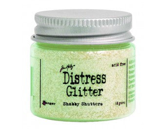 Tim Holtz Distress Glitter Shabby Shutters