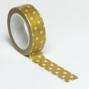 Queen and Co. Trendy Tape Gold Stars