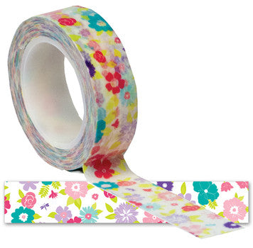 Queen and Co. Trendy Tape Flowers