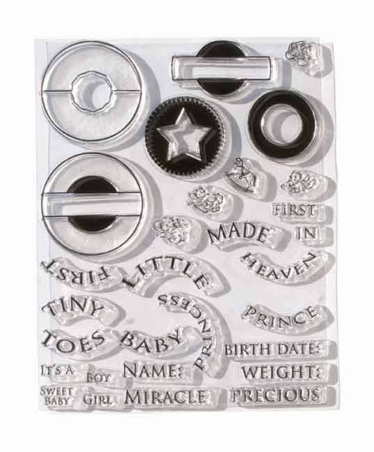 Melissa Frances Crystal Clear Stamps-Baby