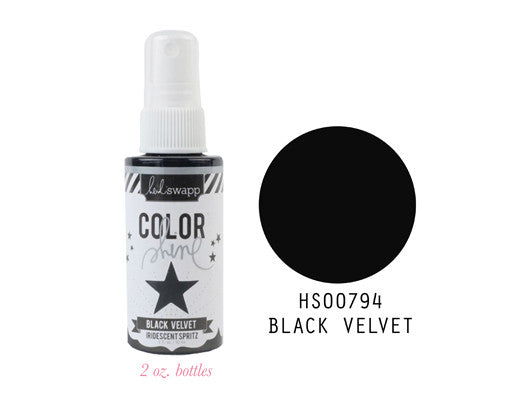 Heidi Swapp Color Shine - Black Velvet