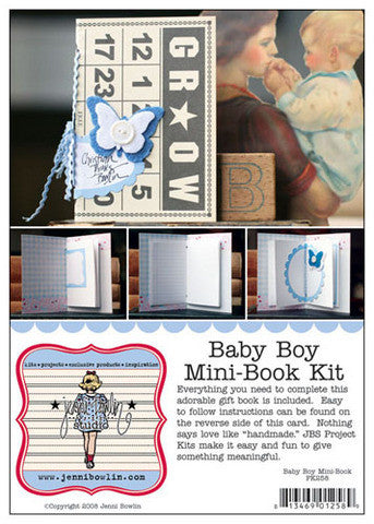Jenni Bowlin Project Kit- Baby Boy