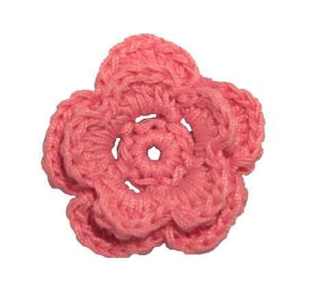 Imaginisce Crocheted Blossoms - Chablis