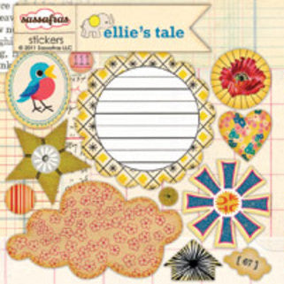 Sassafras Lass Sweet Treats Stickers - Ellie's Tale
