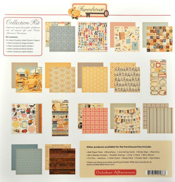 October Afternoon Farmhouse Collection Kit
