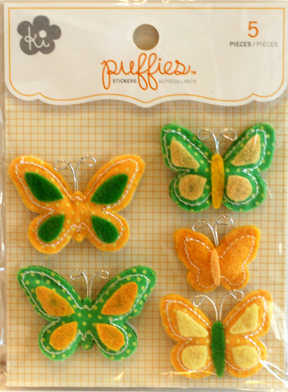 ki Puffies - Flutter Yellow