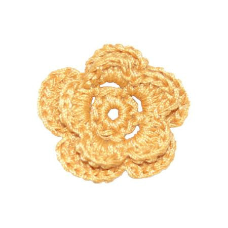 Imaginisce Crocheted Blossoms - French Vanilla
