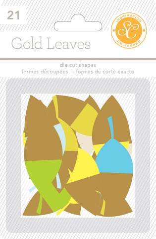Studio Calico Gold Leaves
