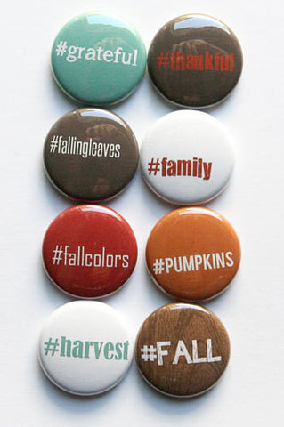 A Flair For Buttons Hashtag Fall