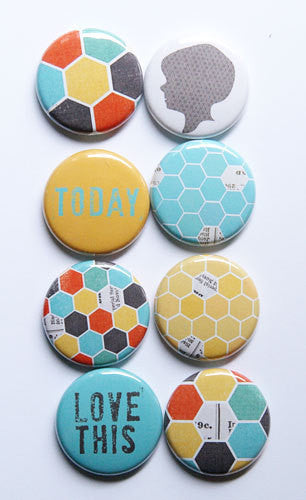 A Flair for Buttons - Hexagon Boy