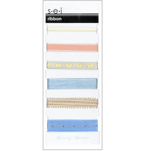 SEI Morning Meadow ribbon card