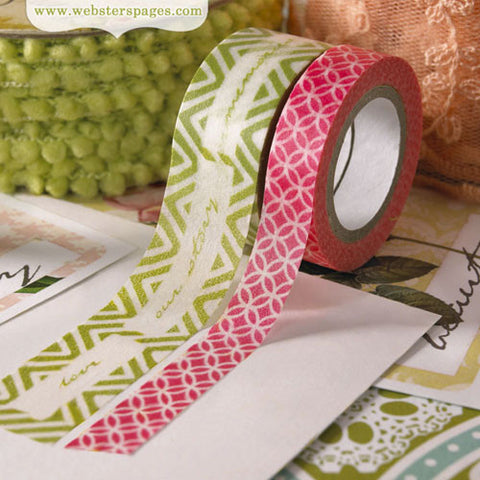 Webster Pages Modern Romance Washi