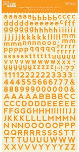 Jillibean Soup Alphabeans Orange