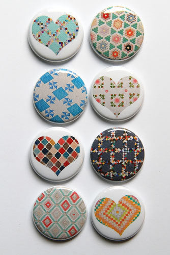 A Flair for Buttons - Quilted 1