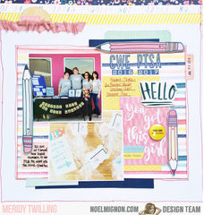 Spring Fling Daily Diary Kit (1 left)