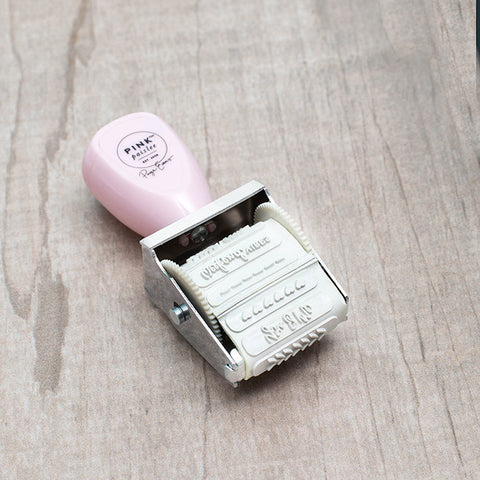 Pink Paislee Take Me Aways Roller Stamp