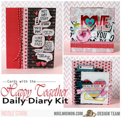 Happy Together Daily Diary Kit