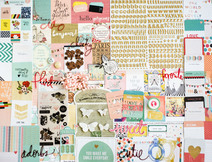 Weekend In Paris Daily Diary Kit (2 in stock)