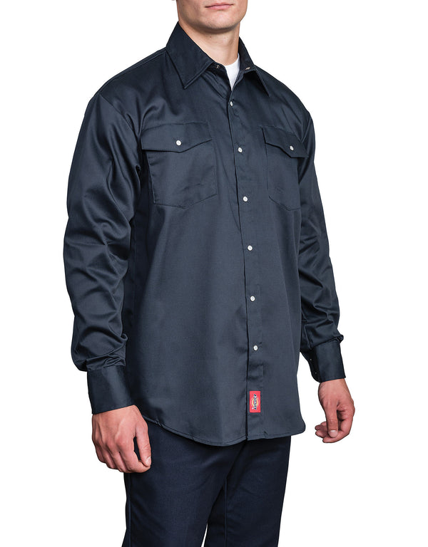 1221 Long Sleeve Snap Front Work Shirt