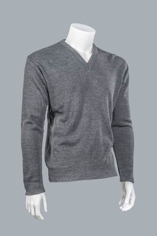 "V-Neck Long Sleeve ""Cashmere"" Shirt"