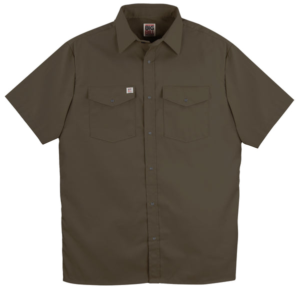 237 Snap Work Shirt Short Sleeve