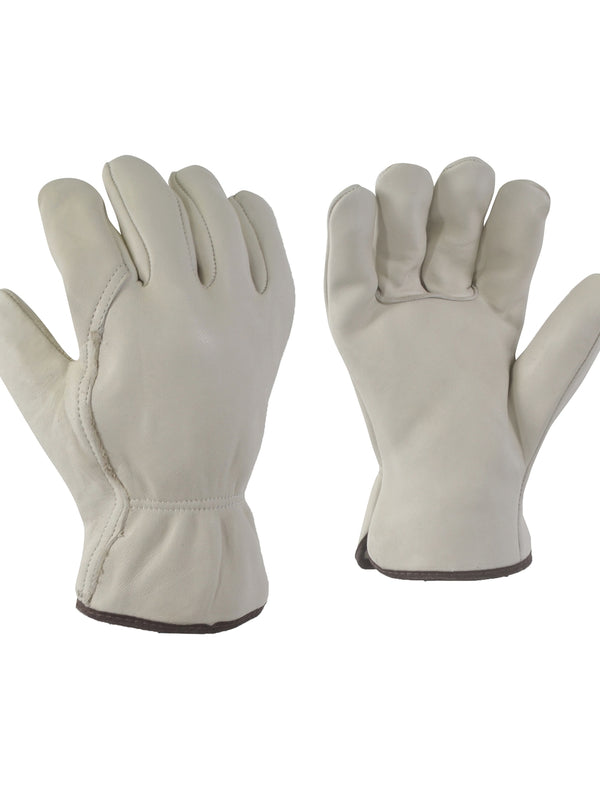 Cowgrain Leather Glove - Flannel